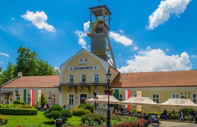 Wejście do Wieliczki